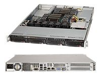 Supermicro SuperServer 6017R-NTF Server rack-mountable 1U 2-way RAM 0 MB SATA