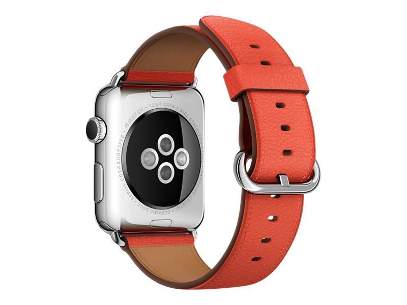Apple 42mm Classic Buckle - Uhrarmband - Rot - für Watch (42 mm)