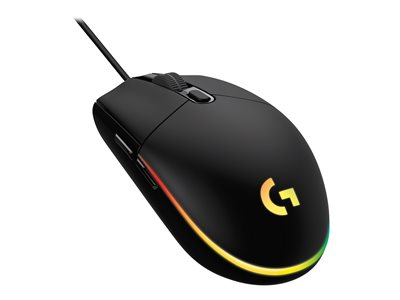 Logitech Gaming Mouse G203 LIGHTSYNC Mouse optical 6 buttons wired USB black