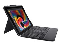 Logitech Slim Combo - Keyboard and folio case