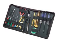 Manhattan Technician Tool Kit, Computer Tool Kit, 17 pieces - Computer repair tool set