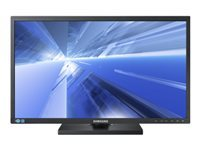 "Samsung SE450 Series S24E450B - LED monitor - 24"" - 1920 x 1080 Full HD (1080p) - TN - 250 cd/m² - 1000:1 - 5 ms - DVI, VGA - black"