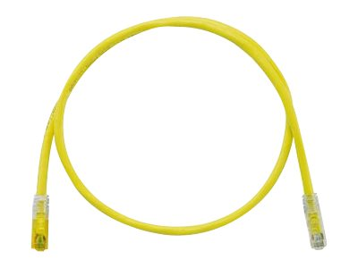 Panduit TX6A 10Gig patch cable - 2 m - yellow