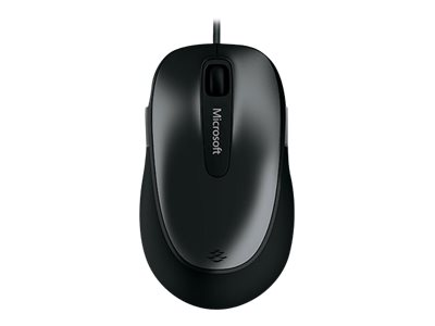 Microsoft Comfort Mouse 4500 for Business - Mouse - optical - 5 buttons - wired - USB - black, anthracite