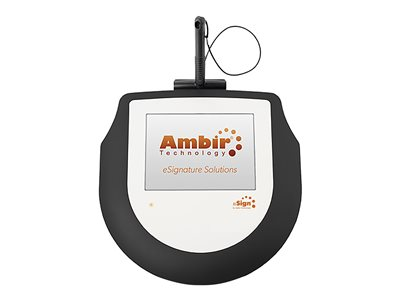 Ambir nSign 200 Signature terminal w/ LCD display wired USB
