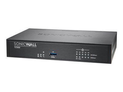 SonicWall TZ300 Security appliance 5 ports GigE
