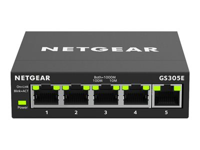 NETGEAR GS305E Switch 5-porte Gigabit