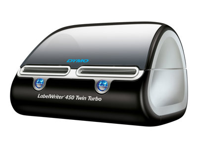 DYMO LabelWriter 450 Twin Turbo - Label printer - thermal paper - 600 x 300 dpi - up to 71 labels/min - capacity: 2 rolls - USB