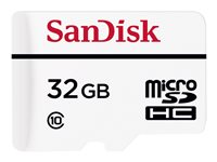 SanDisk Flash memory card (microSDHC to SD adapter included) 32 GB Class 10 micro