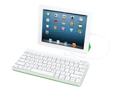 Logitech Wired for iPad Tastatur for Apple iPad mini