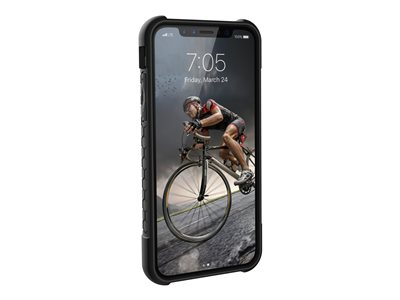 Rugged Case for iPhone Xs / X [5.8-inch screen] - Carbon Fiber Monarch