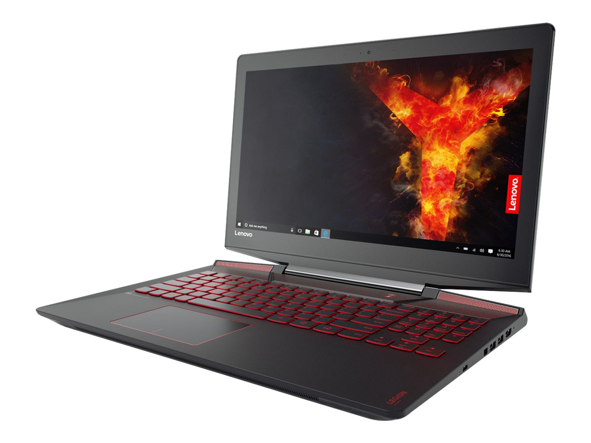 Lenovo Legion Y720-15IKB 80VR - Core i7 7700HQ / 2.8 GHz - Win 10 Home 64-Bit - 16 GB RAM - 256 GB SSD NVMe + 1 TB HDD - 39.6 cm