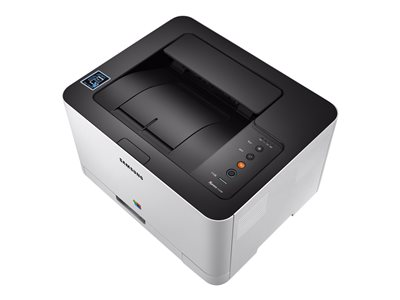Samsung Xpress SL-C430W - Printer - color - laser - A4/Legal - 2400 x 600 dpi - up to 19 ppm (mono) / up to 4 ppm (color) - capacity: 150 sheets - USB 2.0, LAN, Wi-Fi(n), NFC