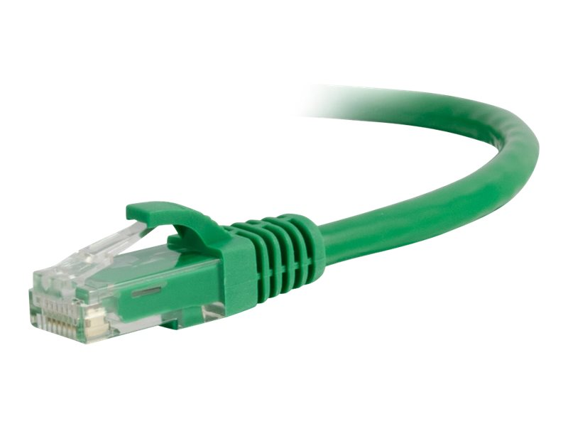 C2G 3ft Cat6a Snagless Unshielded (UTP) Network Patch Ethernet Cable-Green - patch cable - 91.4 cm - green