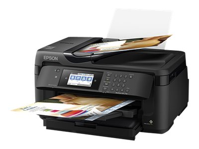 Epson WorkForce WF-7710DWF Multifunction printer color ink-jet 11.7 in x 17 in (original)