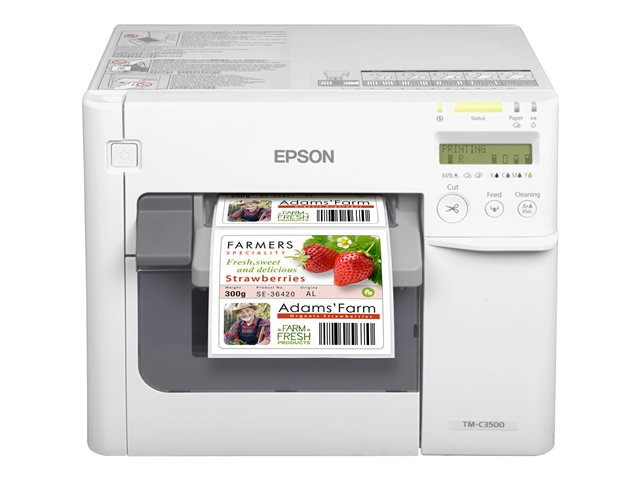 Image of Epson TM C3500 - label printer - colour - ink-jet