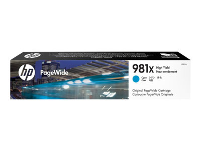 HP 981X 116 ml High Yield cyan original PageWide ink cartridge