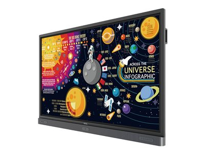 BenQ RP7501K 75INCH Diagonal Class LED display interactive