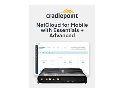 Cradlepoint NetCloud Essentials for Mobile Routers (Enterprise) FIPS