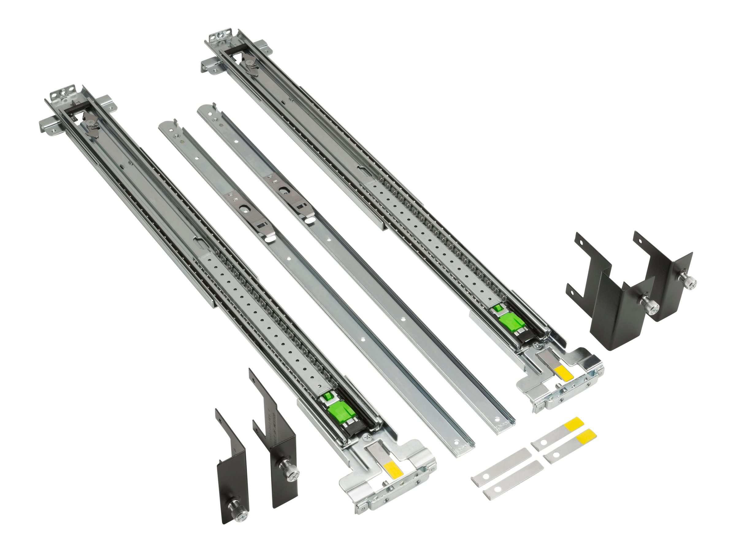 HP Adjustable Rail Rack Kit Flush Mount - Rack-Schienen-Kit - für ProOne 400 G2; Workstation z600, Z600 85%, Z620, z800, Z800 85%, Z820; Workstation z600