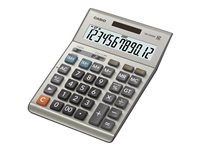 Casio DM-1200BM Desktop calculator 12 digits solar panel, battery