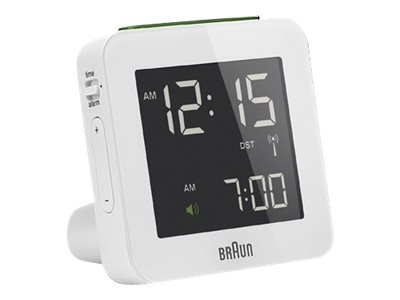 Braun BNC 009 Global Radio Controlled Alarm Clock white