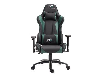 Nordic Gaming Racer Chair Green Black