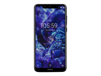 Nokia 5.1 Plus 5.8' 32GB 4G Sort