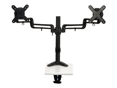 Tripp Lite Dual Display Flex Desk Mount Clamp 13INCH to 27INCH EA