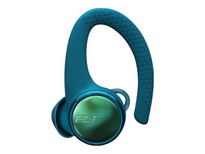 Poly - Plantronics Backbeat FIT 3200 - True wireless earphones with mic - in-ear - over-the-ear mount - replacement - left - Bluetooth - noise isolating - teal