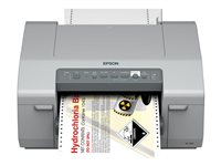 Epson GP-C831 - Label printer - colour - ink-jet - 241 mm (width) - 5760 x 1440 dpi - up to 92 mm/sec - parallel, LAN, USB host