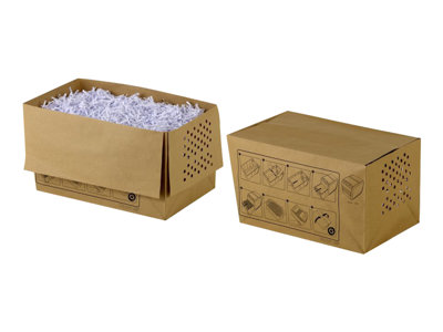 Recyclable Shredder Waste Sacks 20L