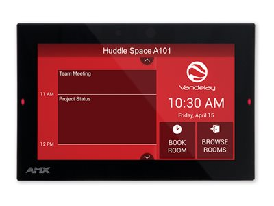 AMX ACB-2107 Scheduling panel display LCD 7 in cable