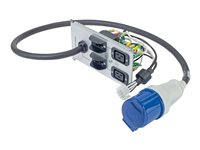 APC Power distribution strip AC 230 V input: power