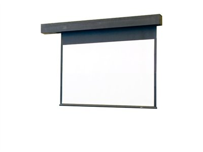 Draper Rolleramic 4:3 NTSC/PAL Video Format Projection screen in-ceiling mountable