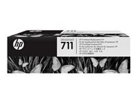 Picture of HP 711 - black, yellow, cyan, magenta - printhead (C1Q10A)