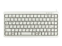 CHERRY ML4100 Keyboard PS/2, USB US light gray