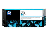 HP 745 300 ml High Capacity cyan original DesignJet ink cartridge