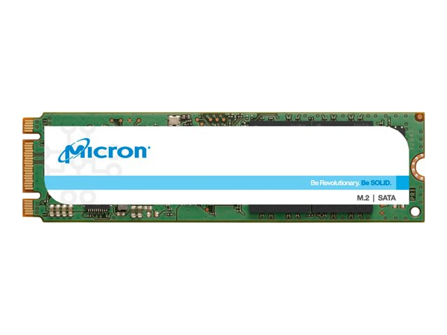 Micron 1300 - Disque SSD - chiffré - 512 Go - interne - M.2 - SATA 6Gb/s - Self-Encrypting Drive (SED), TCG Opal Encryption