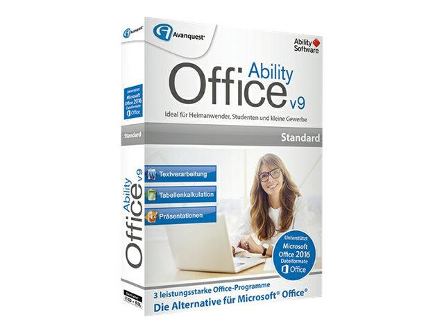 Avanquest AQ ESD Ability Office 9 AY-12035-LIC