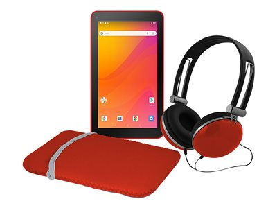 Ematic EGQ378RD Tablet Android 8.1 (Oreo) Go Edition 16 GB 7INCH (1024 x 600) red
