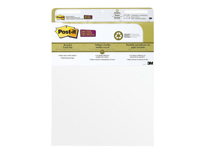 Post-it Easel Pad Flip chart pad 25 in x 30 in 30 sheets white