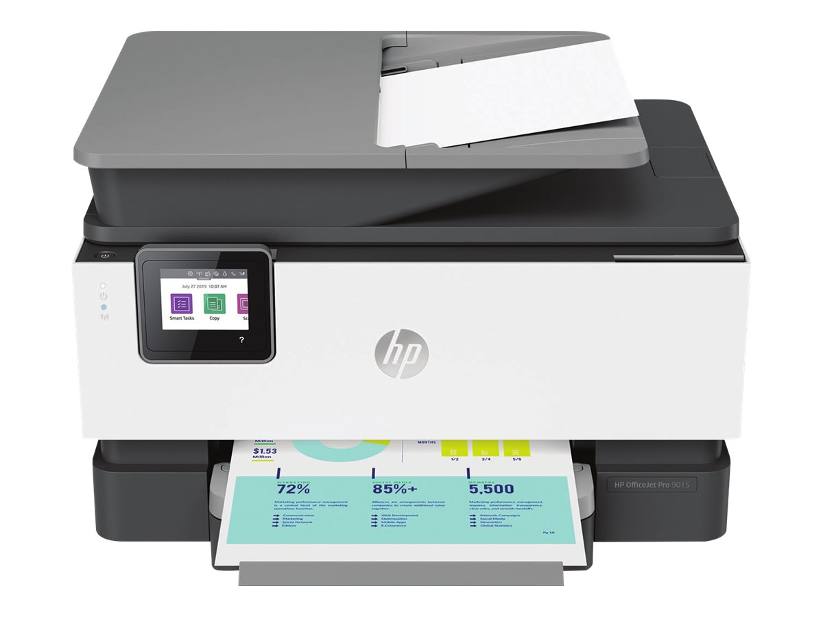HP Officejet Pro 9015 All-in-One - multifunction printer - color - HP Instant Ink eligible