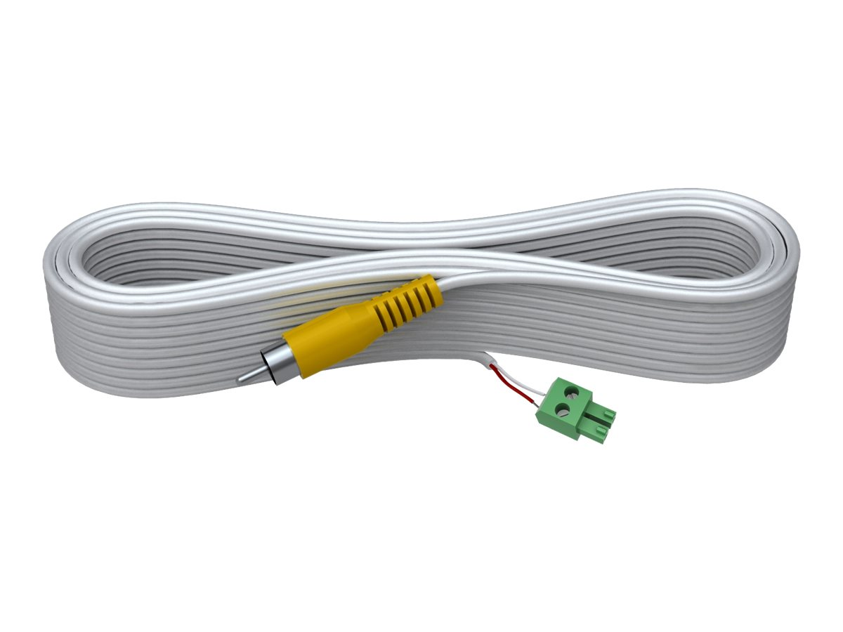 VISION Techconnect 2 - Videokabel - composite video - 2 PIN Phoenix (M) bis RCA (M) - 10 m - geformt