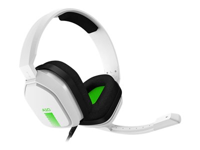 ASTRO A10 Headset full size wired 3.5 mm jack white