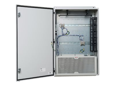 Panduit Universal Network Zone System - network device security cabinet