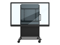 ViewSonic BalanceBox 650-80 - Cart for interactive flat panel / LCD display - black - screen size: 55