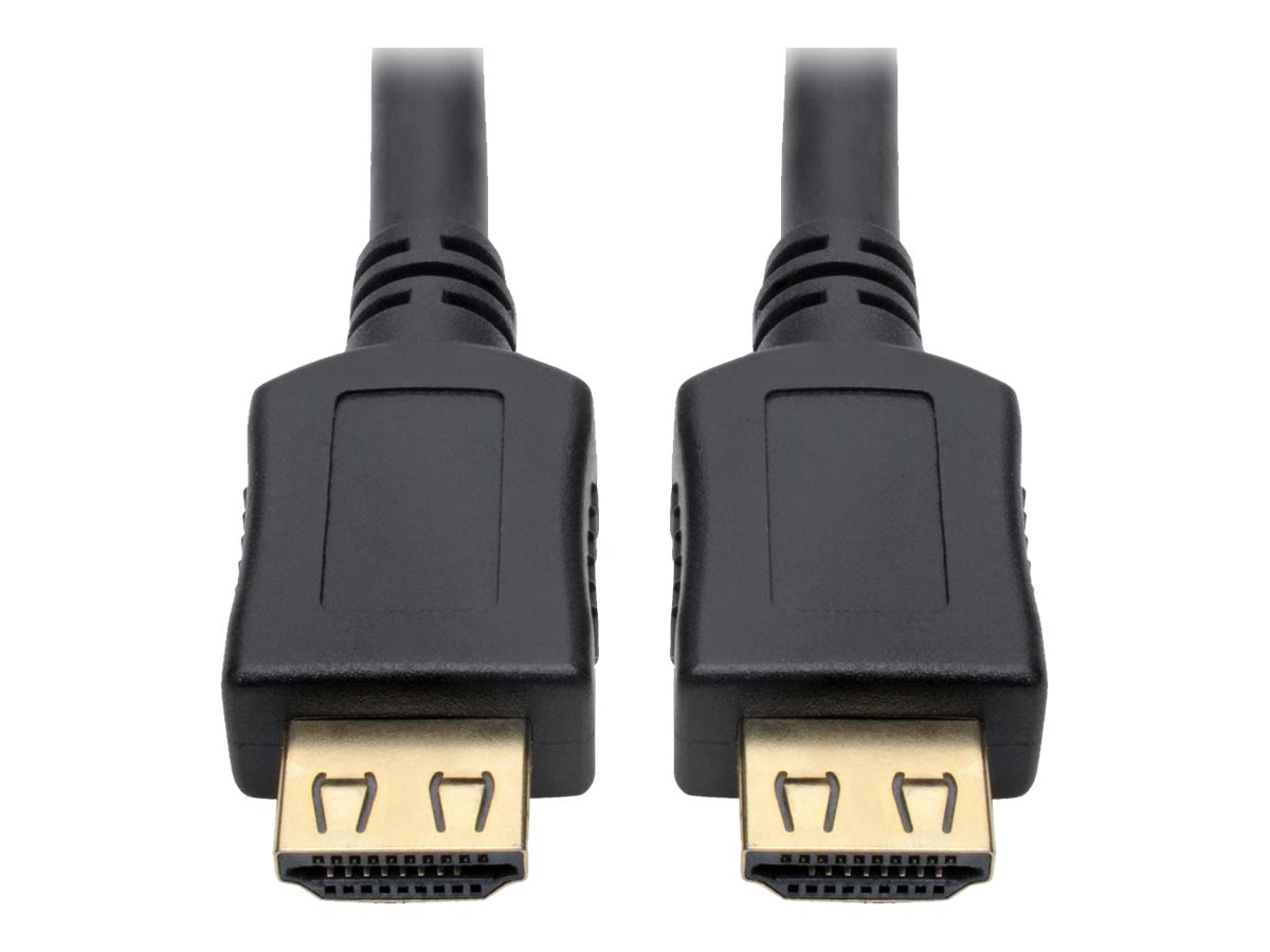 Tripp Lite High-Speed HDMI Cable w/ Gripping Connectors 4K M/M Black 10ft 10' - HDMI cable - 3.05 m