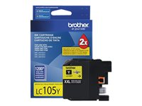 Brother LC-105Y XXL Super High Yield yellow original ink cartridge