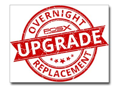 Overnight Exchange Warranty Service Upgrade Extended service agreement replacement 5 years